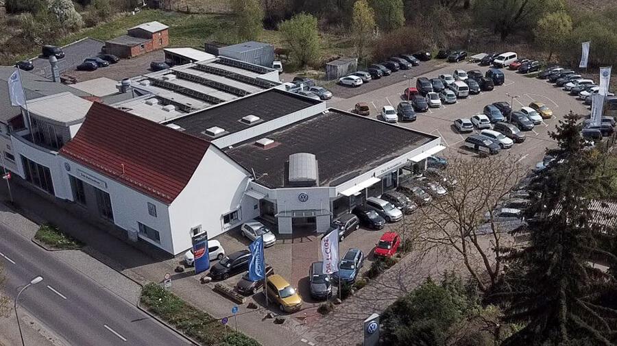 Dein Autozentrum Woldegk - Luftaufnahme